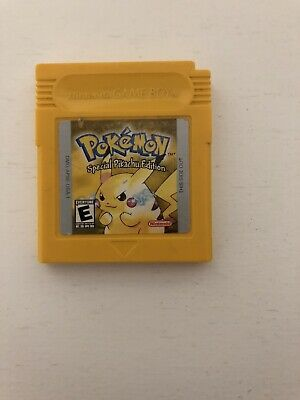 Pokemon Yellow Special Pikachu Edition Game Boy, Free Shipping.