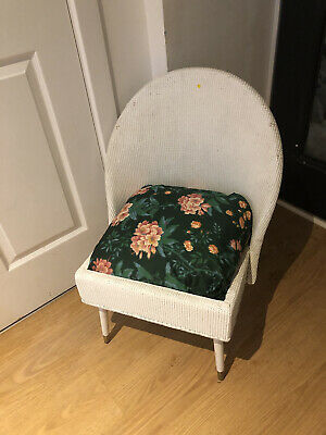 LLOYD LOOM STYLE BASKET / WICKER CHAIR MID CENTURY MODERN RETRO / VINTAGE