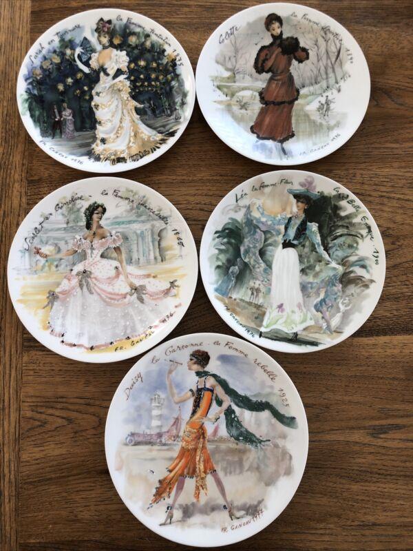 Henri D'Arceau-Limoges Plates