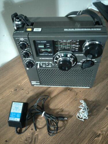 SONY SW1/SW2/SW3/MW/FM Receiver W/ Power Supply Model ICF-5900W, Good Condition.