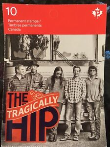 Tragically Hip stamp with original purchase jacket.