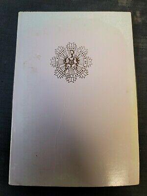 Vintage Order of DeMolay Ritual Secret Work Masonic Corrected 13th Edition 1984