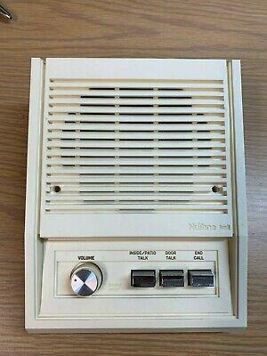Nutone Intercom IS-305 indoor remote speaker for IM-3003, white, biscuit, 25 -