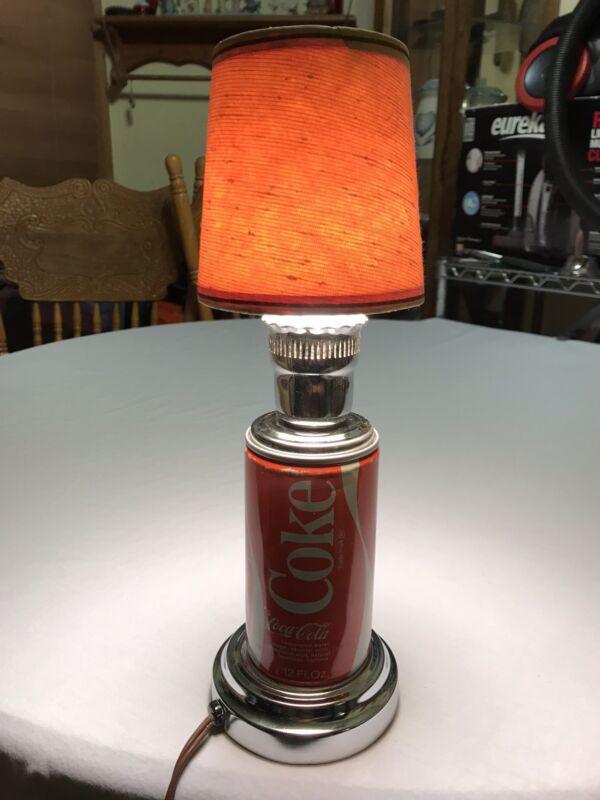 Coca Cola Can Lamp Vintage