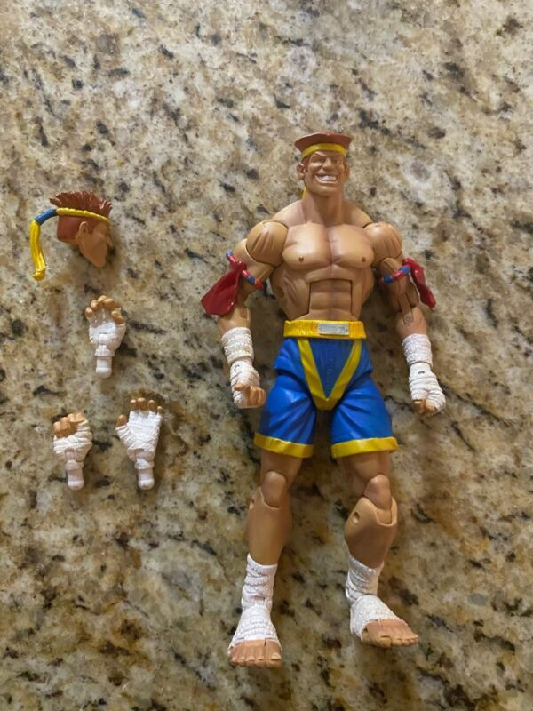 SOTA Toys Street Fighter Series Round 3 Adon Action Figure 6 in. 2005