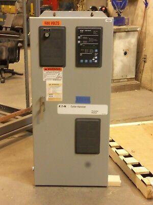 Eaton 100 Amp Automatic Transfer Switch 3 Pole Ats 480v 277v 120v 3 Phase 4 Wire