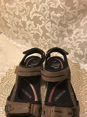 NEW Men's ABEO CAYUCOS M577 Post Brown Sandals Sz 11.5M New for sale  Silver Spring