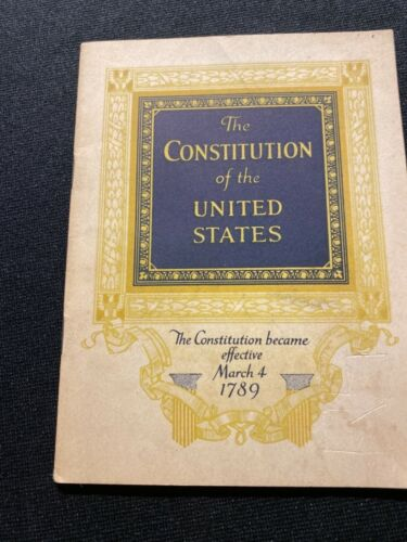 The Constitution of the United States John Hancock Life Insurance Booklet