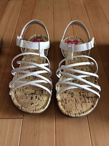 Cute summer sandals - girls size 1