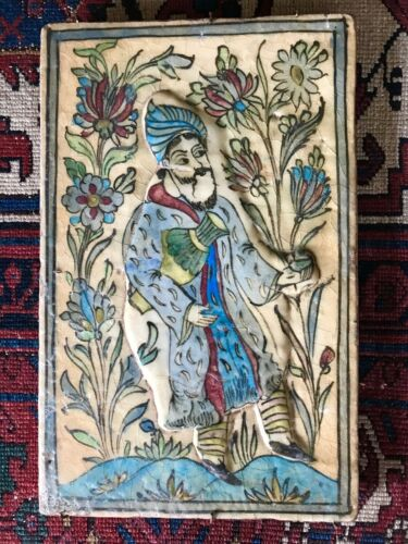 antique Persian tile