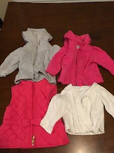 Infant sweaters and vest (3-6 mos)