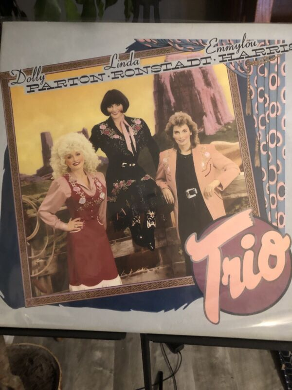 DOLLY PARTON *TRIO* LP - VINYL - (1-25491) - (1987) ALBUM