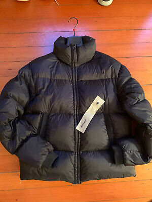 Ten C Mid Layer Down Parka Jacket Black Size 50 Nylon Made In Italy