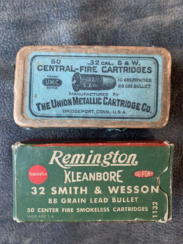 Vintage Remington & Union Metallic Cartridge Co Ammo Boxes Empty