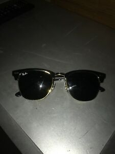 Authentic Ray-Bans Club masters