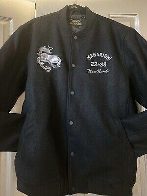 Maharishi Wool Bomber Jacket Size XXL