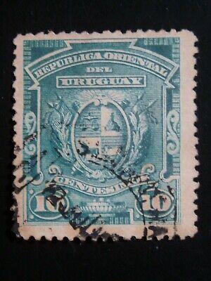 URUGUAY 1 USED STAMP SC # 84