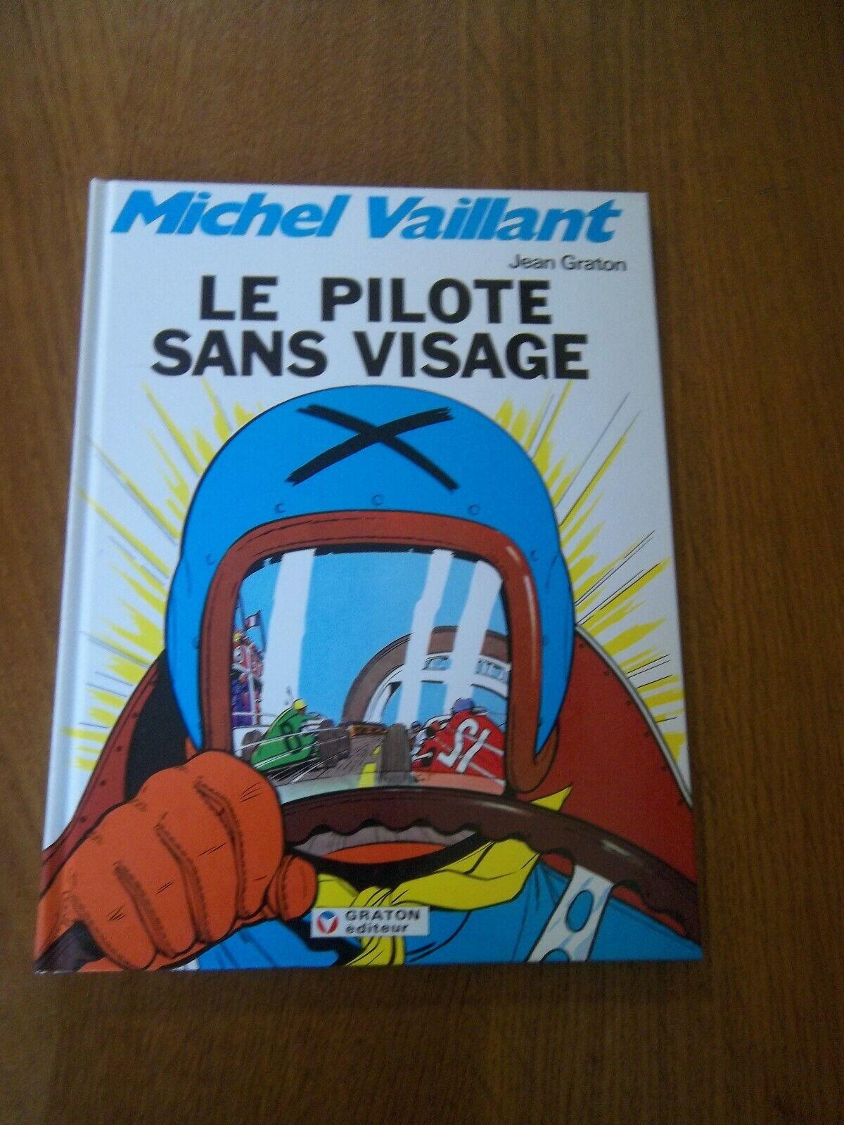 Michel Vaillant:Le pilote sans visage-T2-C-RE-1992