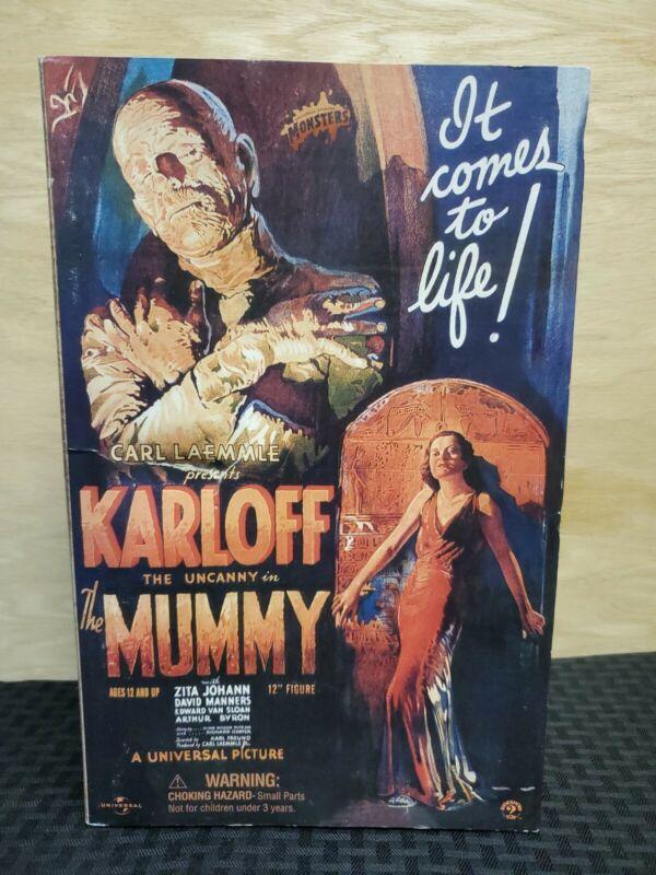 Sideshow Universal Monsters The Mummy 12 inch figure Boris Karloff 2003 RARE