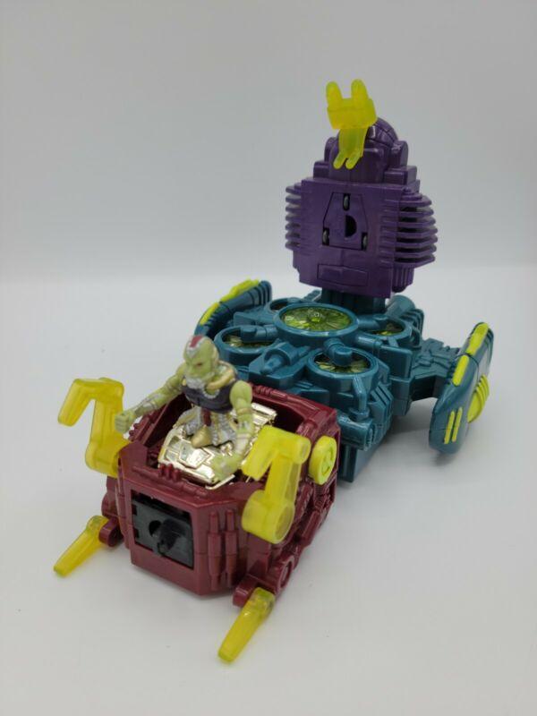 Battle Builders Motorized Deadly Decibel w/ The Silencer Toy Biz 1996 - Complete