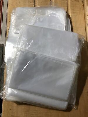Approx 900 x clear medium duty plastic bags 250mm x 200mm