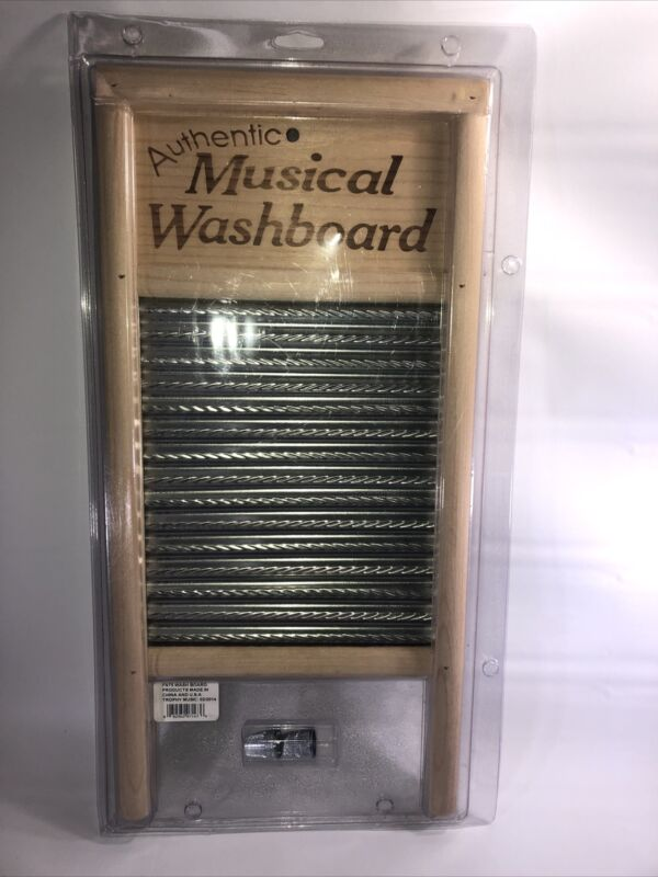 Country Jamboree FN75 Authentic Musical Washboard Brand New