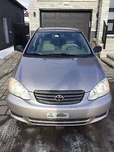 Toyota Corolla à vendre