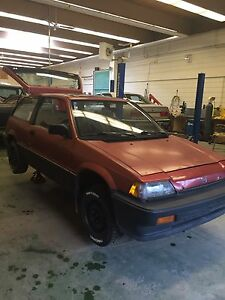 ISO 1983-1987 Honda Civic hatchback