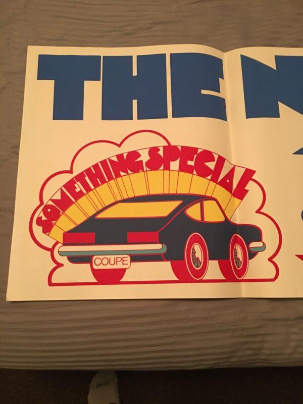1970s Datsun Poster Rare 1200s