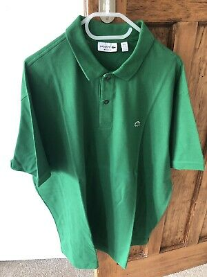 NWOT Authentic Lacoste Mens Polo Shirt - Size 9 (4XL) in Emerald Green