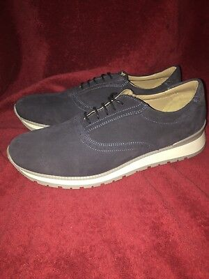 Zara Man Shoes Size US 11 EU 44 NWOB Blue