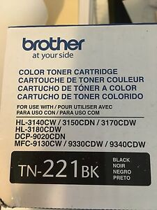 TN-221 black toner (Brother)