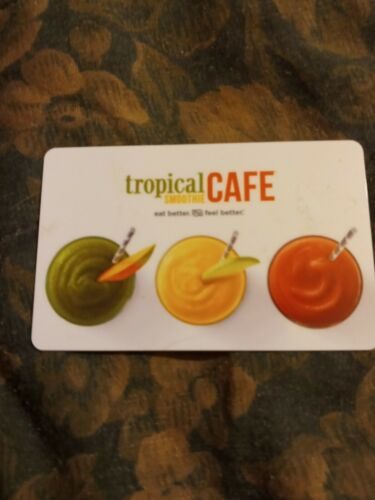 Tropical Smoothie Cafe Used Collectible Gift Card No Value 787992 - $1.88