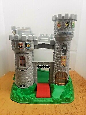Fisher Price Vintage Great Adventures Castle Toy Jousting 1994 Little People