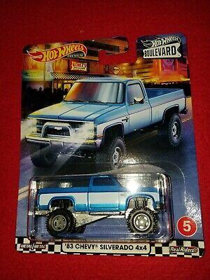 Hot wheels boulevard 83 Chevy Silverado  4x4