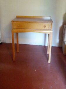 Solid Oak Antique Writing Desk