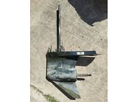 Mercury optimax/efi/carb 135-150-175-200 hp V6 2.5L outboard 20'' lower unit