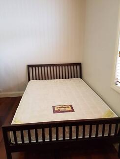 Queen Size Mattress and bedframe for sale