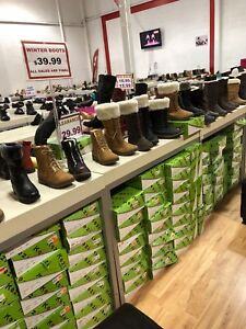 Close out boots for up to 80% off