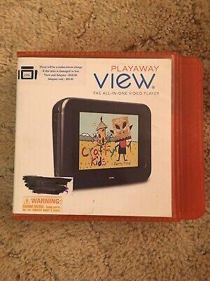 CRAFTY KIDS Playaway View Handheld Portable Video Party Time YA Educational Art