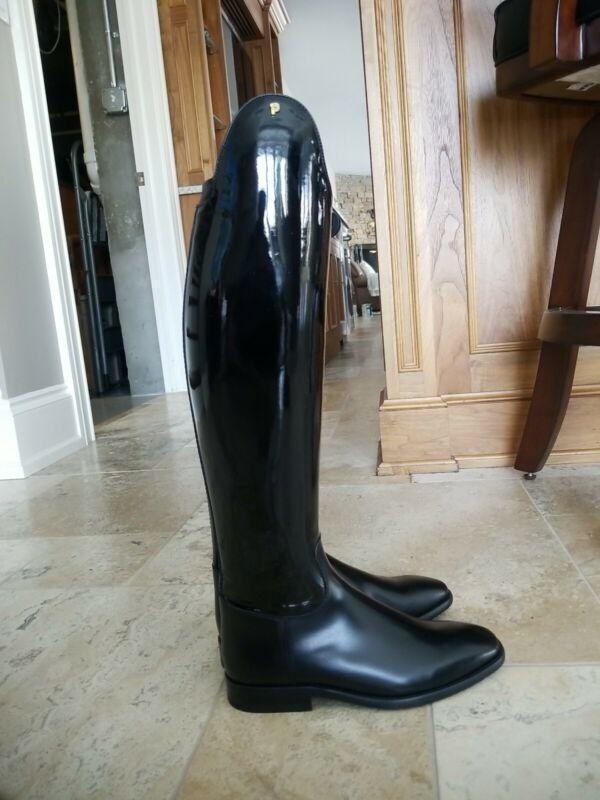 NEW Petrie Sublime Patent Dressage Boots