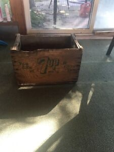 Old seven up crate