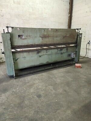 Roto-die 10 Hydraulic Press Brake With Material Rack And Sheetmetal Stock