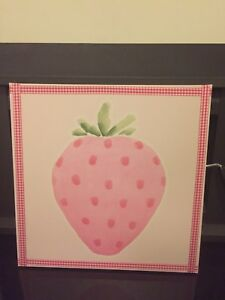 Strawberry painting Ngunnawal Gungahlin Area Preview