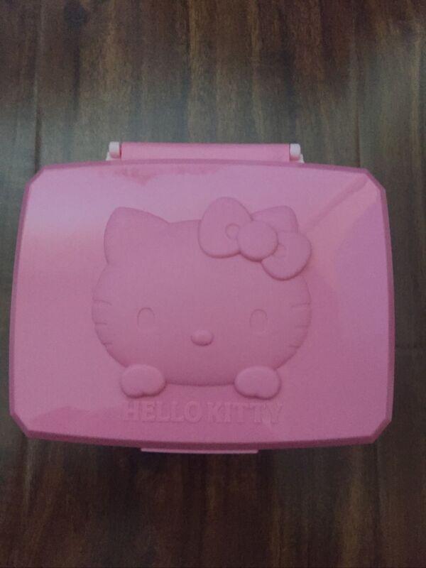 Sanrio Hello Kitty Make-up Removing Wipes Wet Tissue Box  Holder Japan