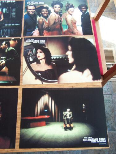 Mulholland Drive German Lobby Card Set (8) David Lynch
