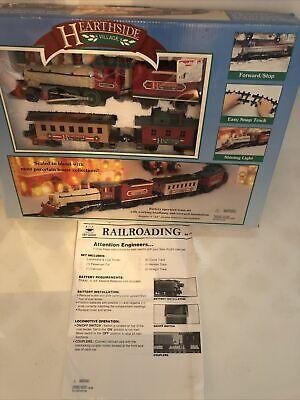 New Bright Christmas Village Wintersville Express Battery Operated Train Set