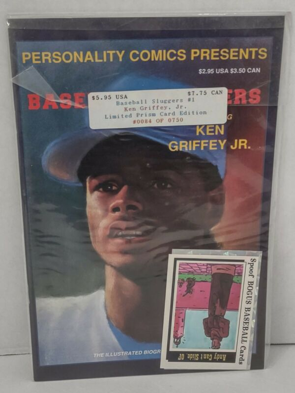 Personality Comics Presents Baseball Sluggers #1 Ken Griffey Jr. Prism Edition