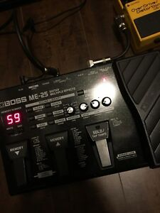 Boss ME-25 multi-effects pedal