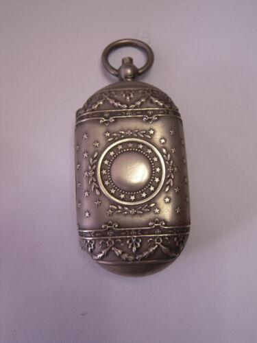 Antique Vintage French Pocket Coin Holder